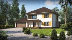 Дом по проекту zx12GL2