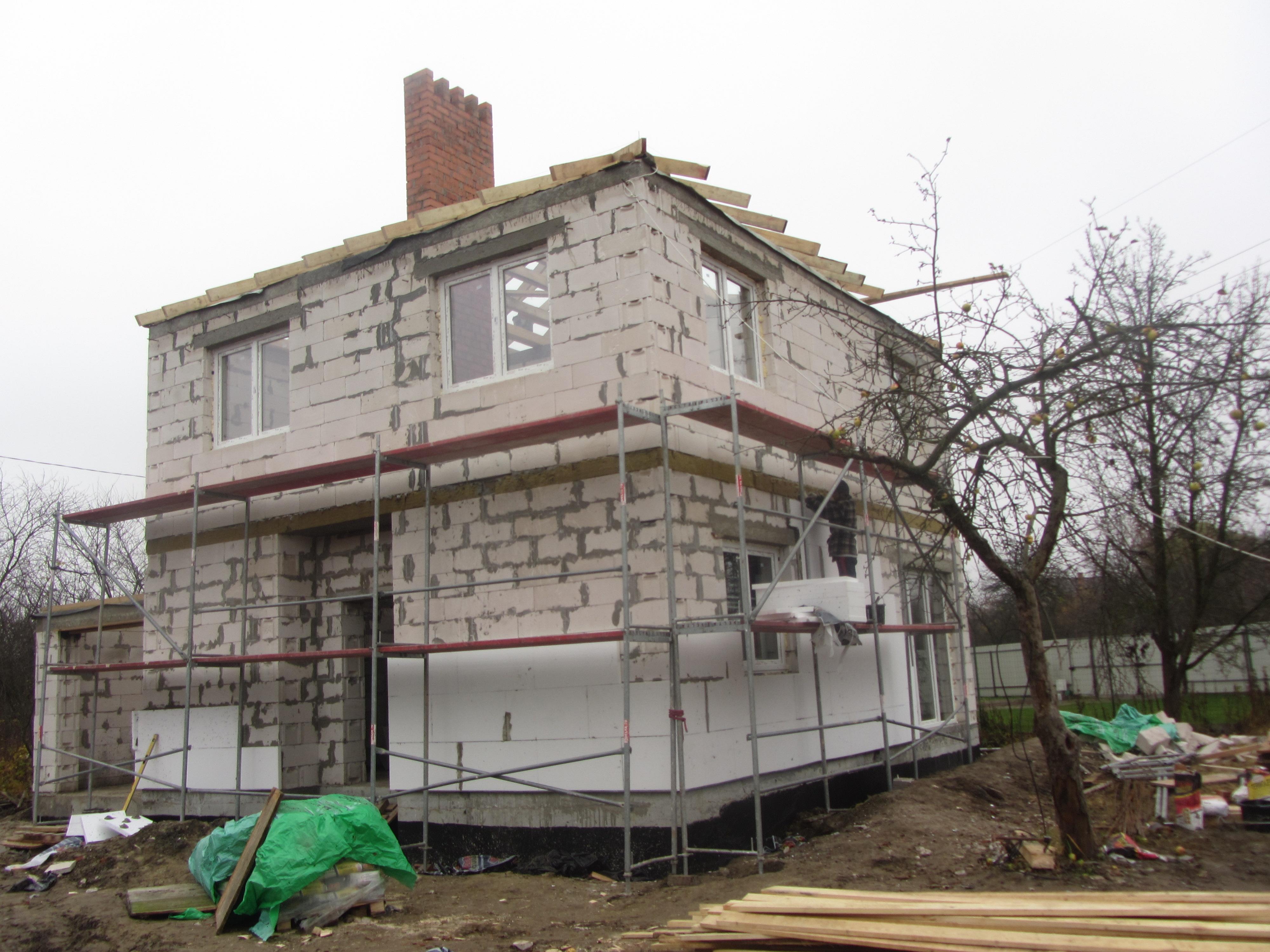 дом газосиликатный блок